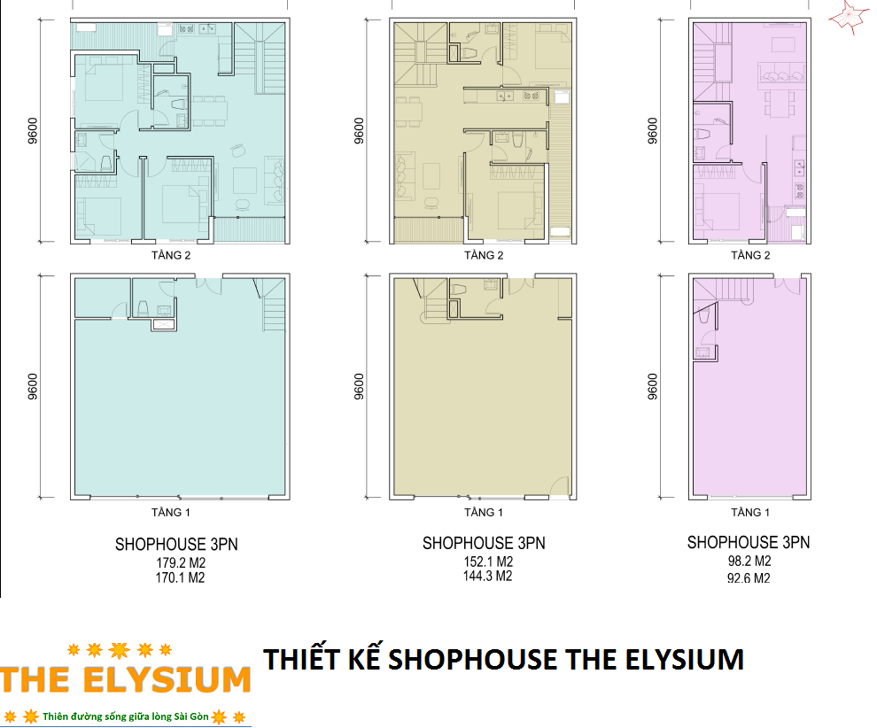 thiet-ke-shop-house-elysium-tower